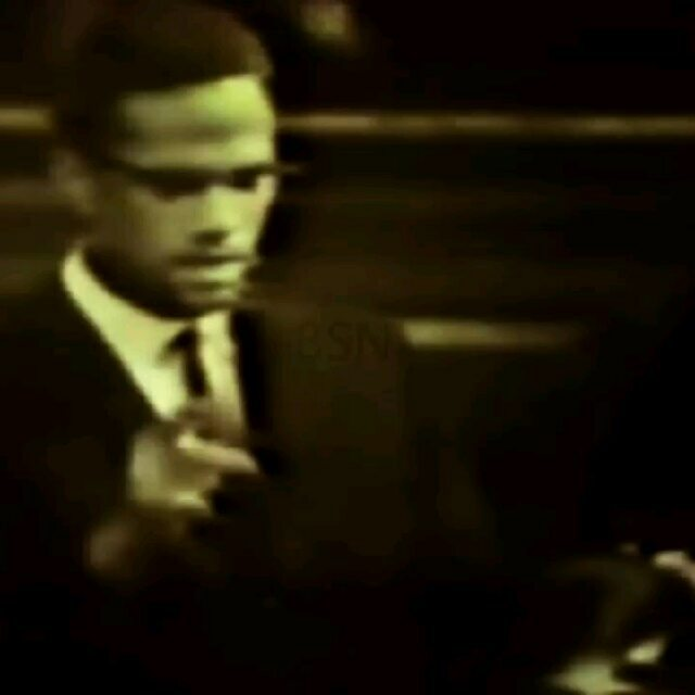 Malcolm X in 1964 during his Oxford Union Debate talkshellip