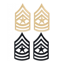 Black Gun Owners Association - Enlistment Rankings Insignia - Master Sergeant