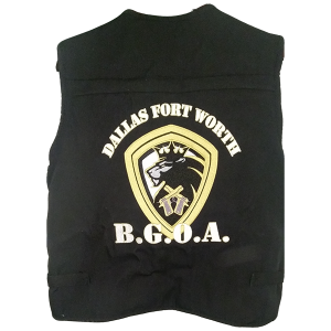 Black Gun Owners Association - Vest