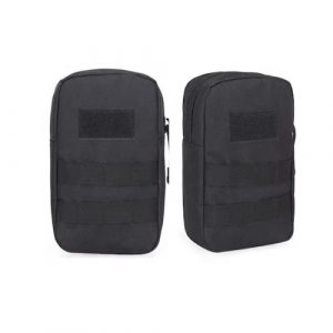 Black Gun Owners Association - Black Molle EDC Hip Pouch - Black