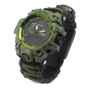 Black Gun Owners Association - Digital Outdoor Sports Watch Front