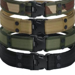 Black Gun Owners Association - Military Padded Hardware Belt