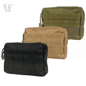 Black Gun Owners Association - MOLLE Waist Pouches Utility Large
