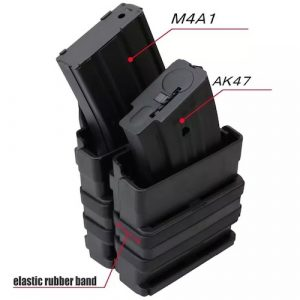 Black Gun Owners Association - Polymer Stacking Magazine Pouch